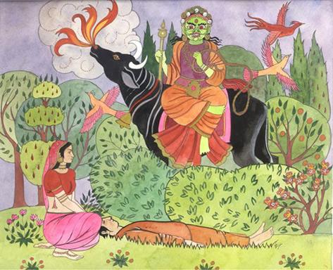 Savitri Lord Yama